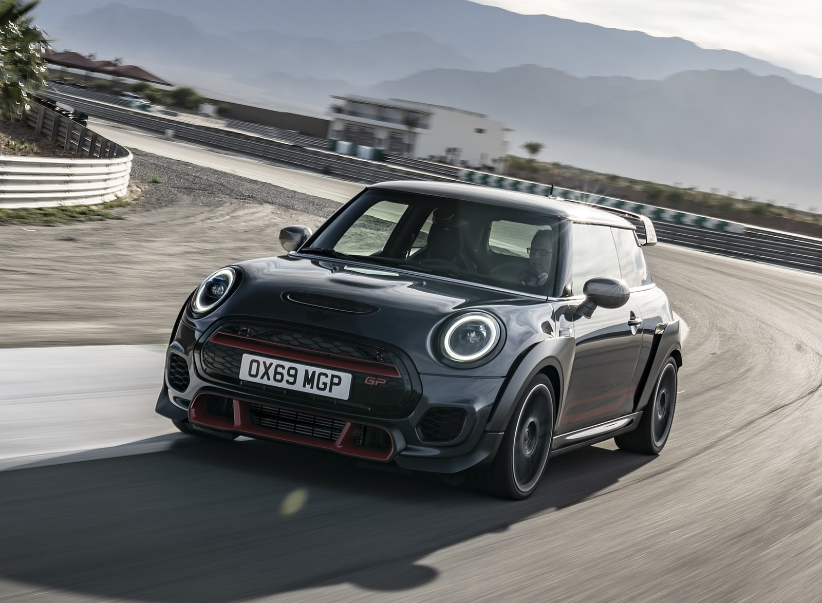 2020 MINI John Cooper Works GP Front Three-Quarter Wallpapers (3)