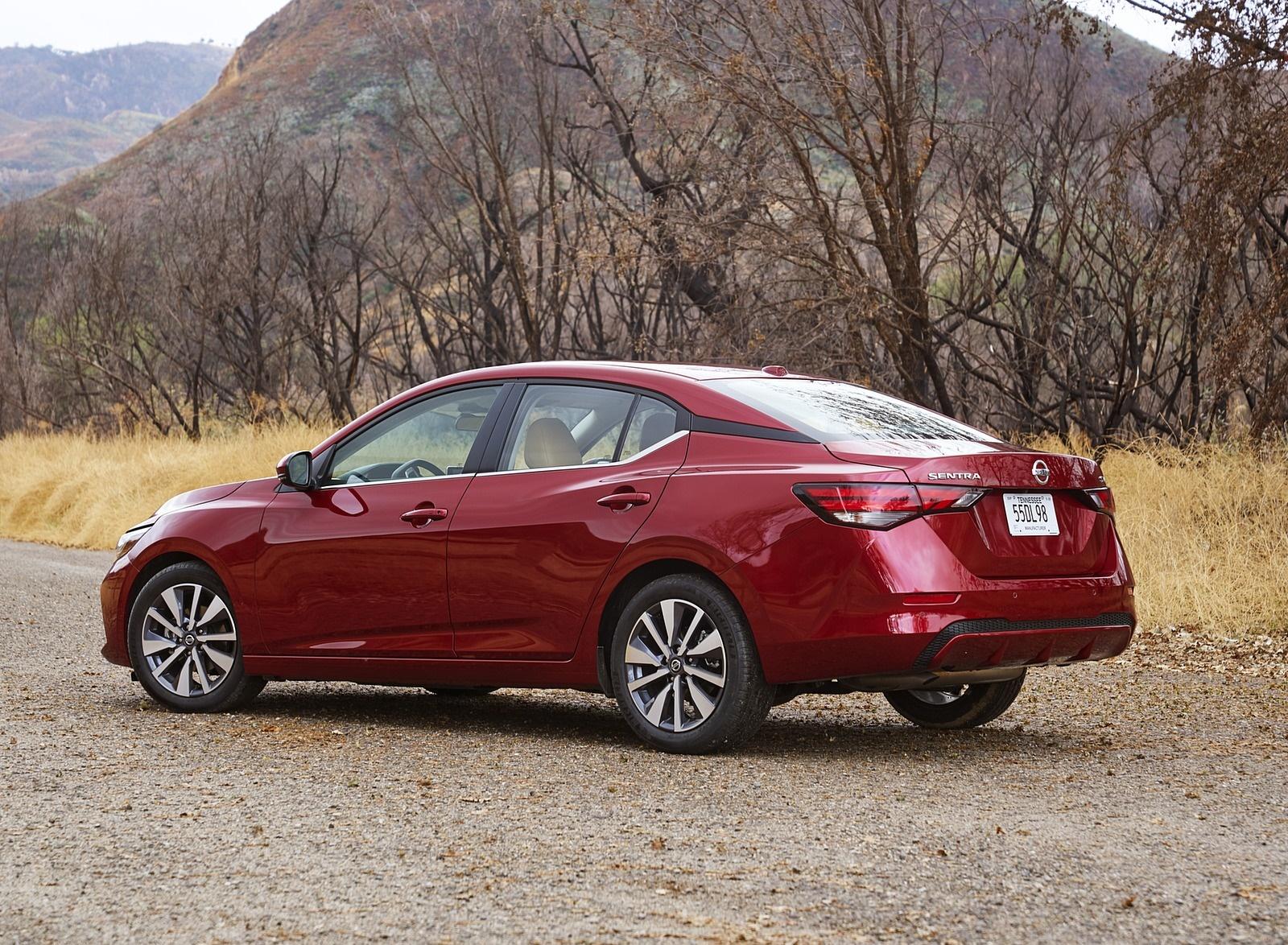 2020 Nissan Sentra Rear Three-Quarter Wallpapers (10)