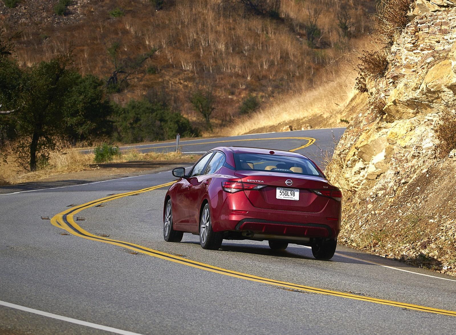 2020 Nissan Sentra Rear Three-Quarter Wallpapers (3)