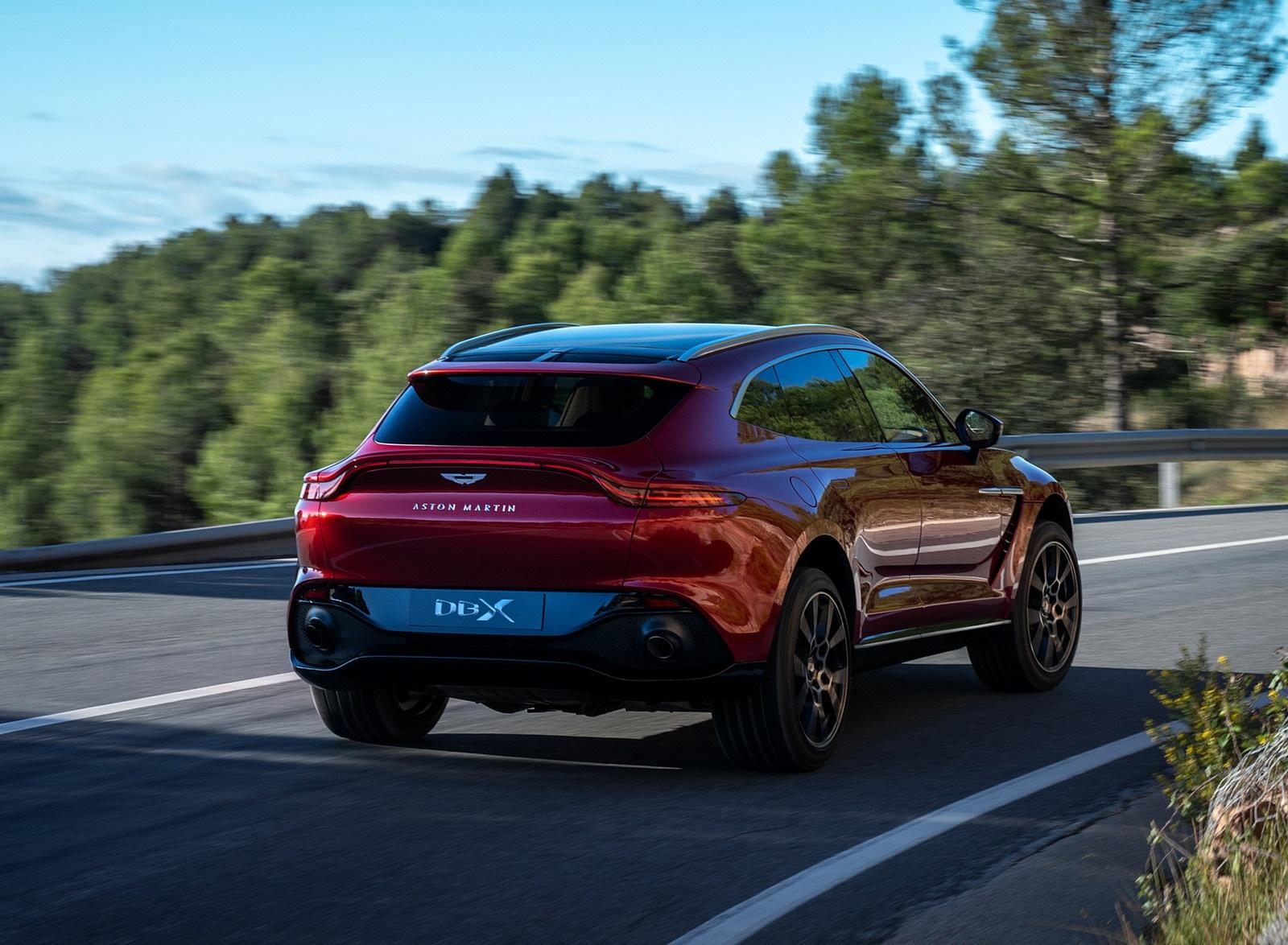 2021 Aston Martin DBX Rear Three-Quarter Wallpapers (5)