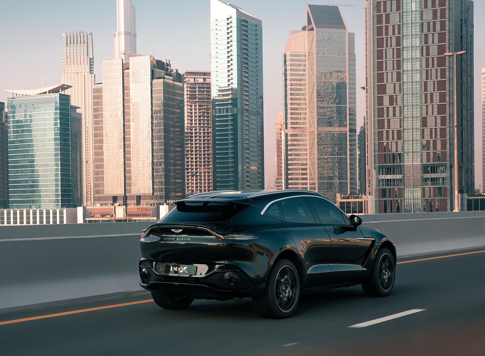 2021 Aston Martin DBX Rear Three-Quarter Wallpapers (7)