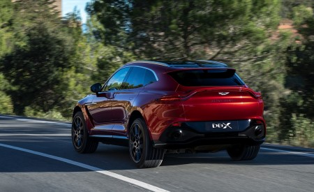 2021 Aston Martin DBX Rear Three-Quarter Wallpapers 450x275 (11)