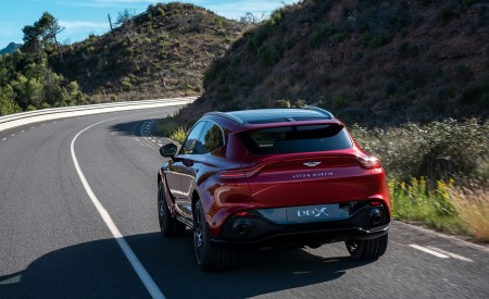 2021 Aston Martin DBX Rear Three-Quarter Wallpapers 450x275 (6)