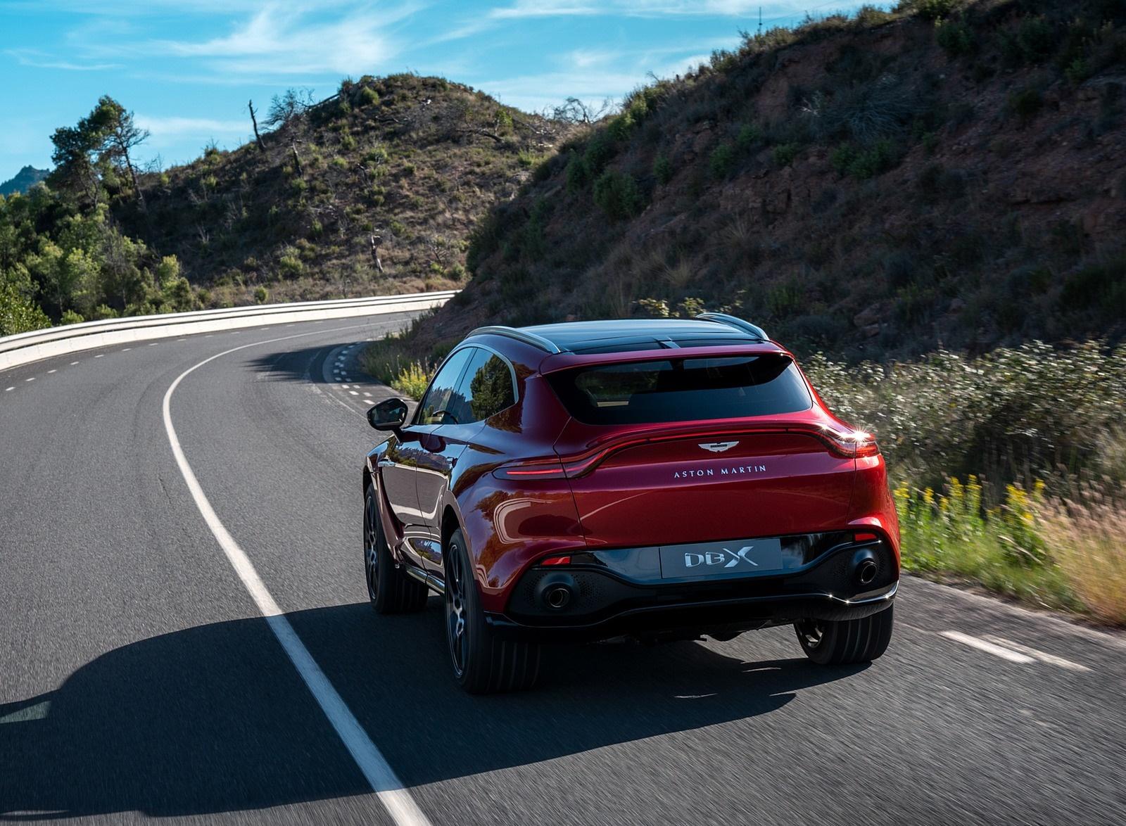 2021 Aston Martin DBX Rear Three-Quarter Wallpapers (6)