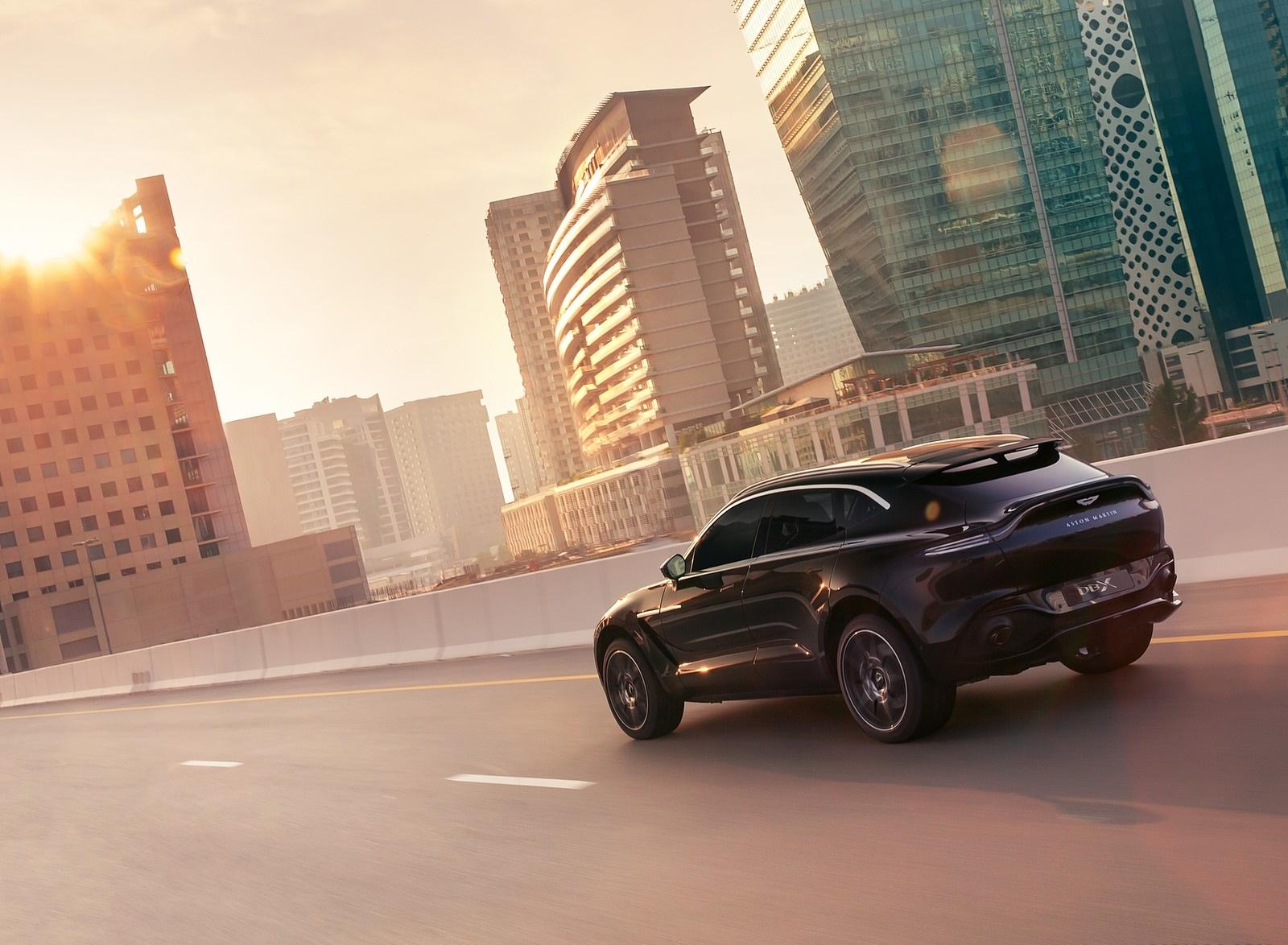 2021 Aston Martin DBX Rear Three-Quarter Wallpapers (8)