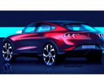 2021 Ford Mustang Mach-E Electric SUV Design Sketch Wallpapers 150x120 (40)