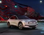 2021 Ford Mustang Mach-E Electric SUV Front Three-Quarter Wallpapers 150x120 (4)