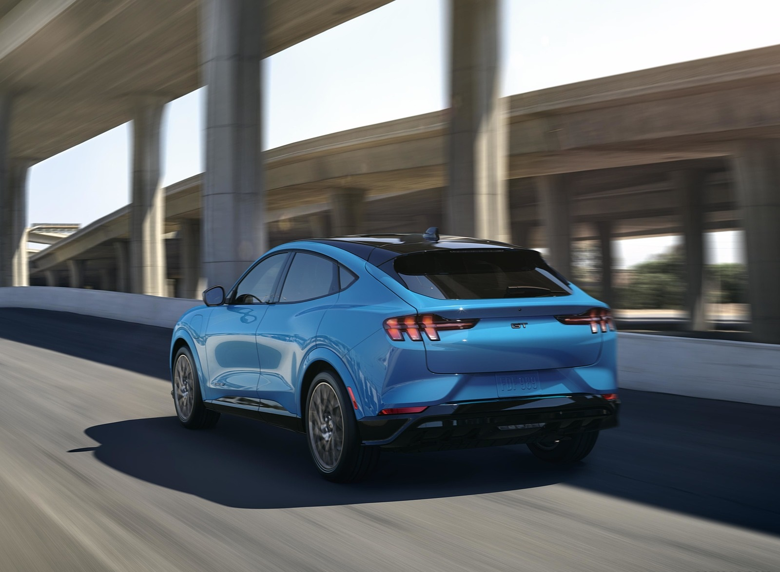 2021 Ford Mustang Mach-E Electric SUV Rear Three-Quarter Wallpapers (7)