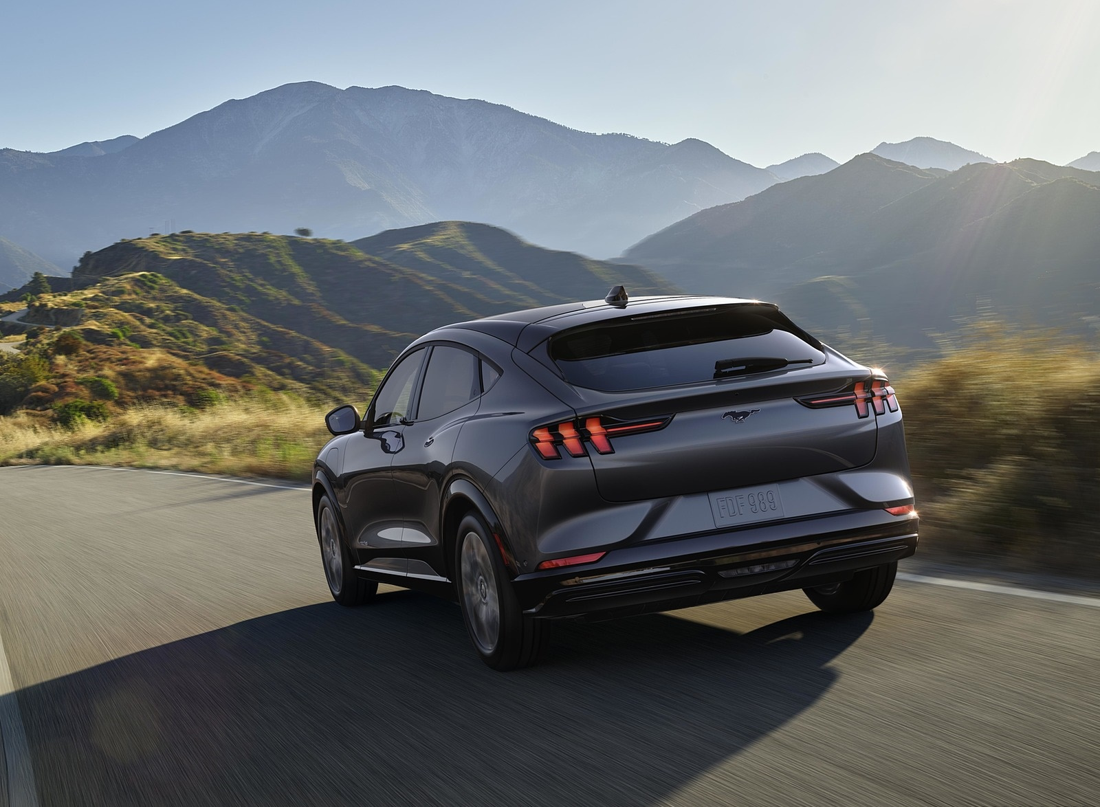 2021 Ford Mustang Mach-E Electric SUV Rear Three-Quarter Wallpapers (8)