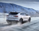 2021 Ford Mustang Mach-E Electric SUV Rear Three-Quarter Wallpapers 150x120 (9)