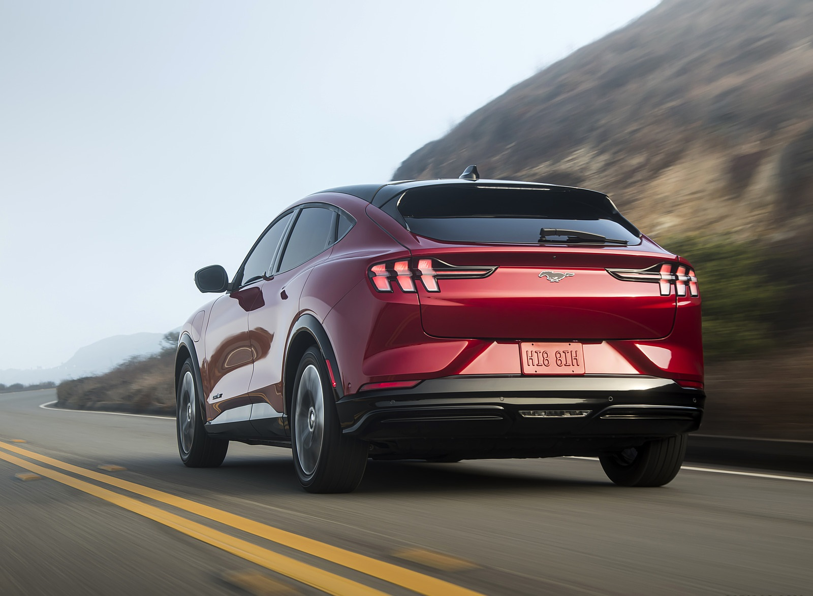 2021 Ford Mustang Mach-E Rear Three-Quarter Wallpapers  (8)