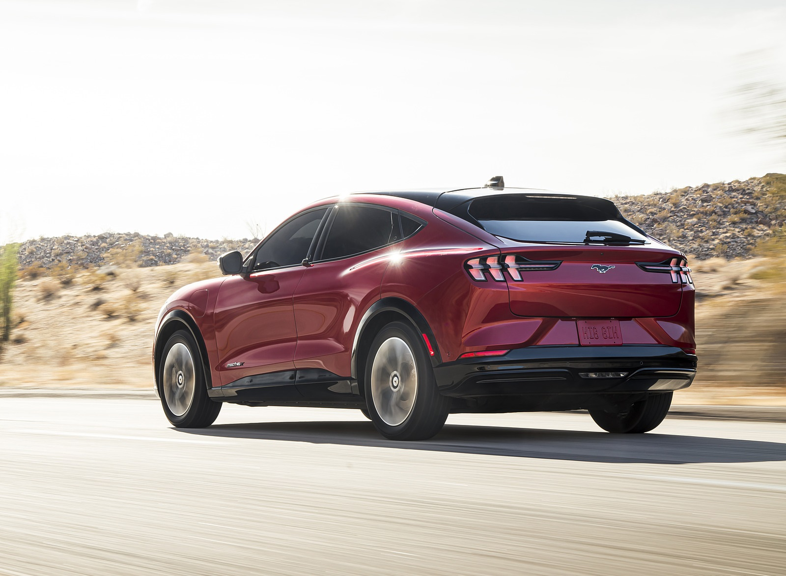 2021 Ford Mustang Mach-E Rear Three-Quarter Wallpapers (9)