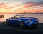 2021 Lexus LC 500 Convertible Rear Three-Quarter Wallpapers 150x120 (24)