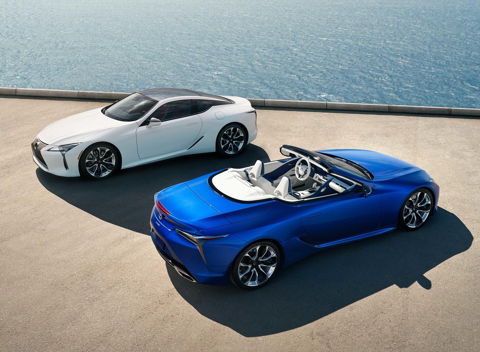 2021 Lexus LC 500 Convertible Top Wallpapers (8)