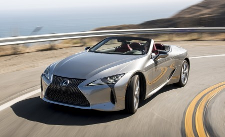 2021 Lexus LC 500 Convertible Wallpapers HD