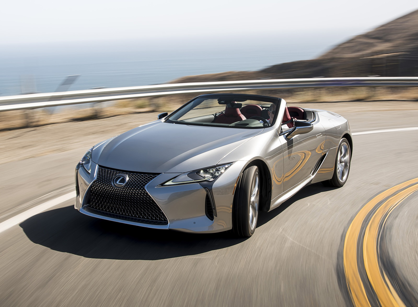 2021 Lexus LC Convertible Front Three-Quarter Wallpapers (1)