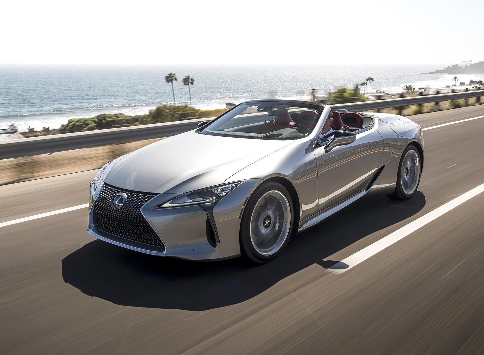 2021 Lexus LC Convertible Front Three-Quarter Wallpapers (3)