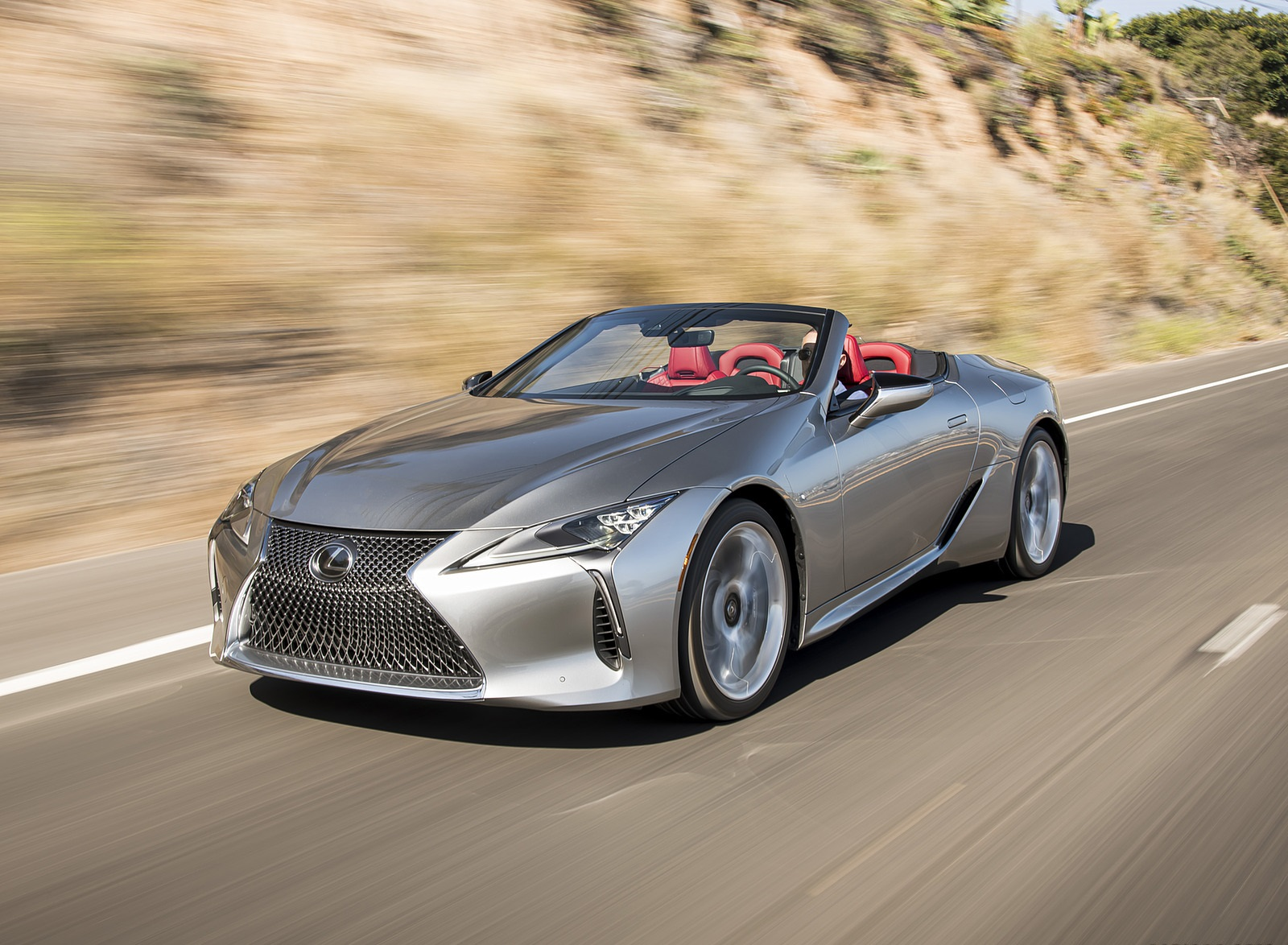 2021 Lexus LC Convertible Front Three-Quarter Wallpapers (4)