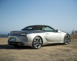 2021 Lexus LC Convertible Rear Three-Quarter Wallpapers 150x120 (9)