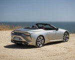 2021 Lexus LC Convertible Rear Three-Quarter Wallpapers 150x120 (10)