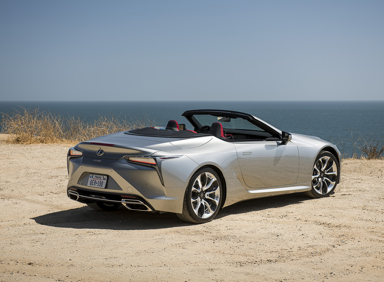 2021 Lexus LC Convertible Rear Three-Quarter Wallpapers (10)