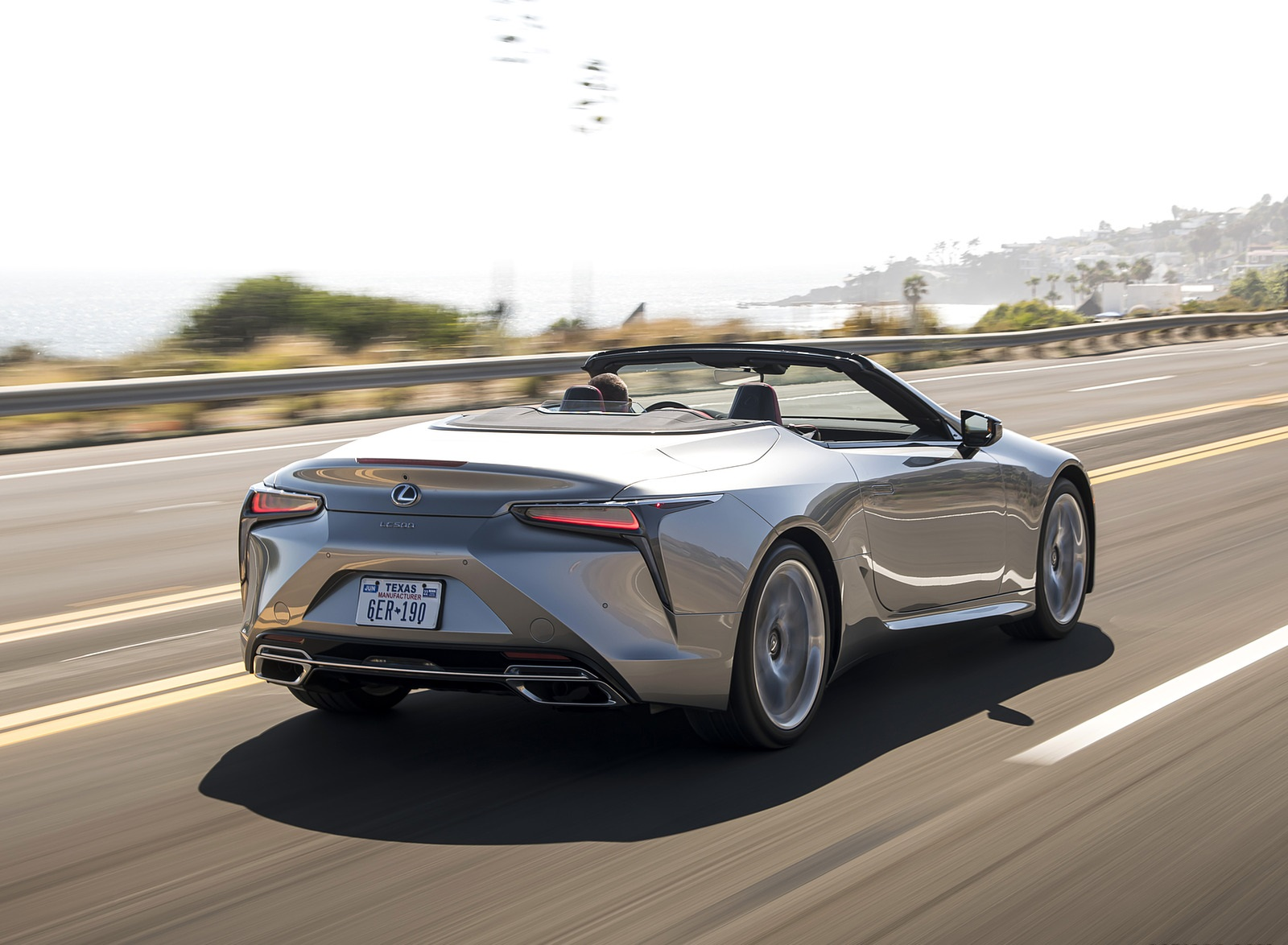 2021 Lexus LC Convertible Rear Three-Quarter Wallpapers (5)