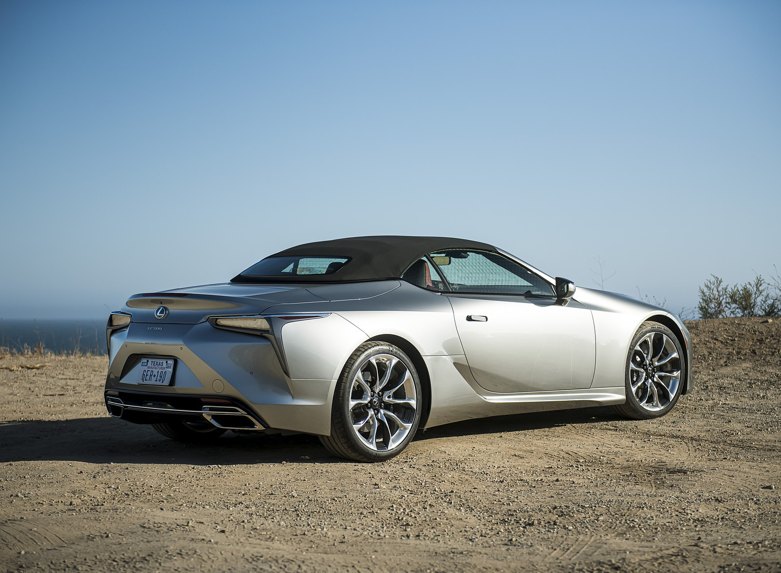 2021 Lexus LC Convertible Rear Three-Quarter Wallpapers (9)
