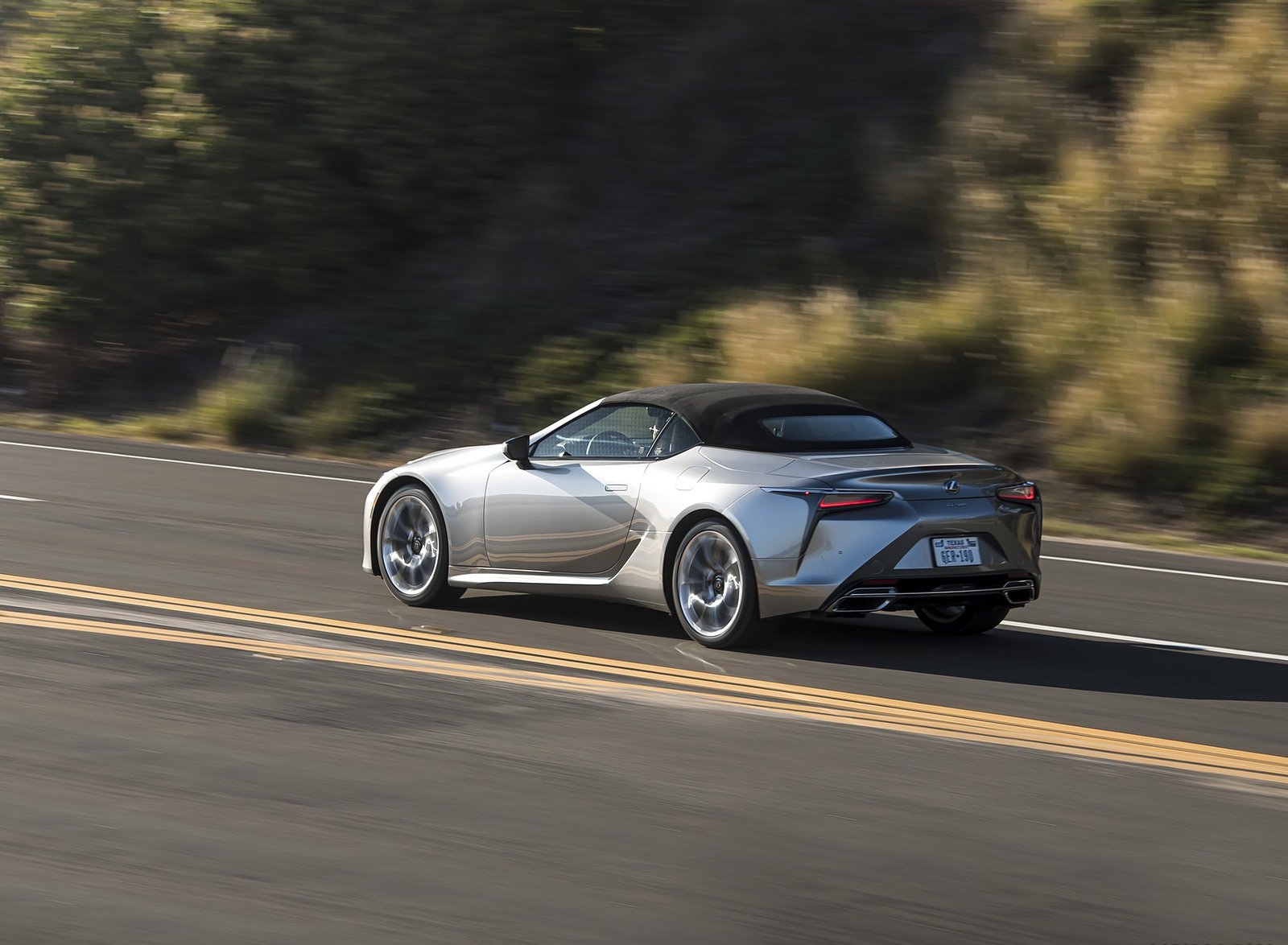 2021 Lexus LC Convertible Rear Three-Quarter Wallpapers (6)