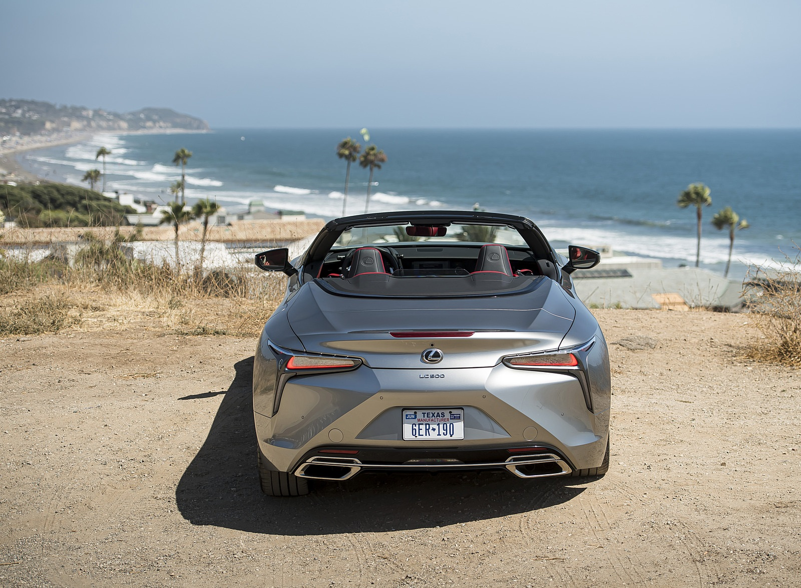 2021 Lexus LC Convertible Rear Wallpapers (8)