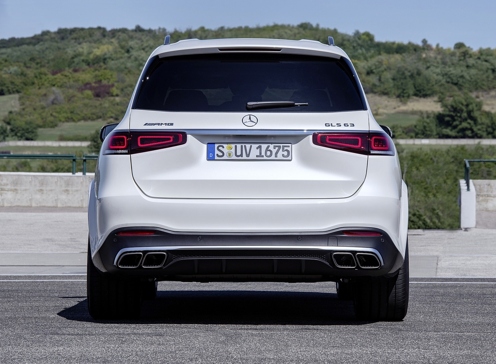 2021 Mercedes-AMG GLS 63 Rear Wallpapers (7)