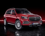 2021 Mercedes-Maybach GLS 600 (Color: Designo Hyacinth Red Metallic) Front Three-Quarter Wallpapers 150x120 (50)
