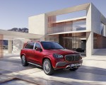 2021 Mercedes-Maybach GLS 600 (Color: Designo Hyacinth Red Metallic) Front Three-Quarter Wallpapers 150x120 (48)