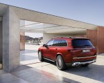 2021 Mercedes-Maybach GLS 600 (Color: Designo Hyacinth Red Metallic) Rear Three-Quarter Wallpapers 150x120 (49)