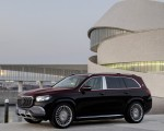 2021 Mercedes-Maybach GLS 600 (Color: Rubellite Red or Obsidian Black) Front Three-Quarter Wallpapers 150x120 (11)