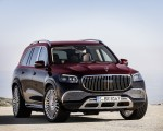 2021 Mercedes-Maybach GLS 600 (Color: Rubellite Red or Obsidian Black) Front Three-Quarter Wallpapers 150x120 (12)