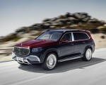 2021 Mercedes-Maybach GLS 600 (Color: Rubellite Red or Obsidian Black) Front Three-Quarter Wallpapers 150x120 (1)