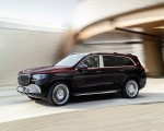 2021 Mercedes-Maybach GLS 600 (Color: Rubellite Red or Obsidian Black) Front Three-Quarter Wallpapers 150x120 (5)