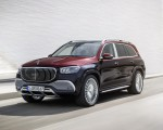2021 Mercedes-Maybach GLS 600 (Color: Rubellite Red or Obsidian Black) Front Three-Quarter Wallpapers 150x120 (7)
