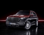 2021 Mercedes-Maybach GLS 600 (Color: Rubellite Red or Obsidian Black) Front Wallpapers 150x120 (36)