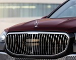 2021 Mercedes-Maybach GLS 600 (Color: Rubellite Red or Obsidian Black) Grill Wallpapers 150x120 (24)