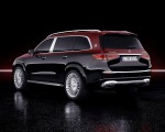 2021 Mercedes-Maybach GLS 600 (Color: Rubellite Red or Obsidian Black) Rear Three-Quarter Wallpapers 150x120 (39)