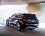 2021 Mercedes-Maybach GLS 600 (Color: Rubellite Red or Obsidian Black) Rear Three-Quarter Wallpapers 150x120 (8)