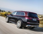 2021 Mercedes-Maybach GLS 600 (Color: Rubellite Red or Obsidian Black) Rear Three-Quarter Wallpapers 150x120 (3)