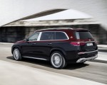 2021 Mercedes-Maybach GLS 600 (Color: Rubellite Red or Obsidian Black) Rear Three-Quarter Wallpapers 150x120 (9)