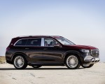 2021 Mercedes-Maybach GLS 600 (Color: Rubellite Red or Obsidian Black) Side Wallpapers 150x120 (17)