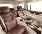 2021 Mercedes-Maybach GLS 600 Exclusive nappa leather mahogany or macchiato Interior Rear Seats Wallpapers 150x120 (44)