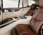 2021 Mercedes-Maybach GLS 600 Exclusive nappa leather mahogany or macchiato Interior Rear Seats Wallpapers 150x120 (33)