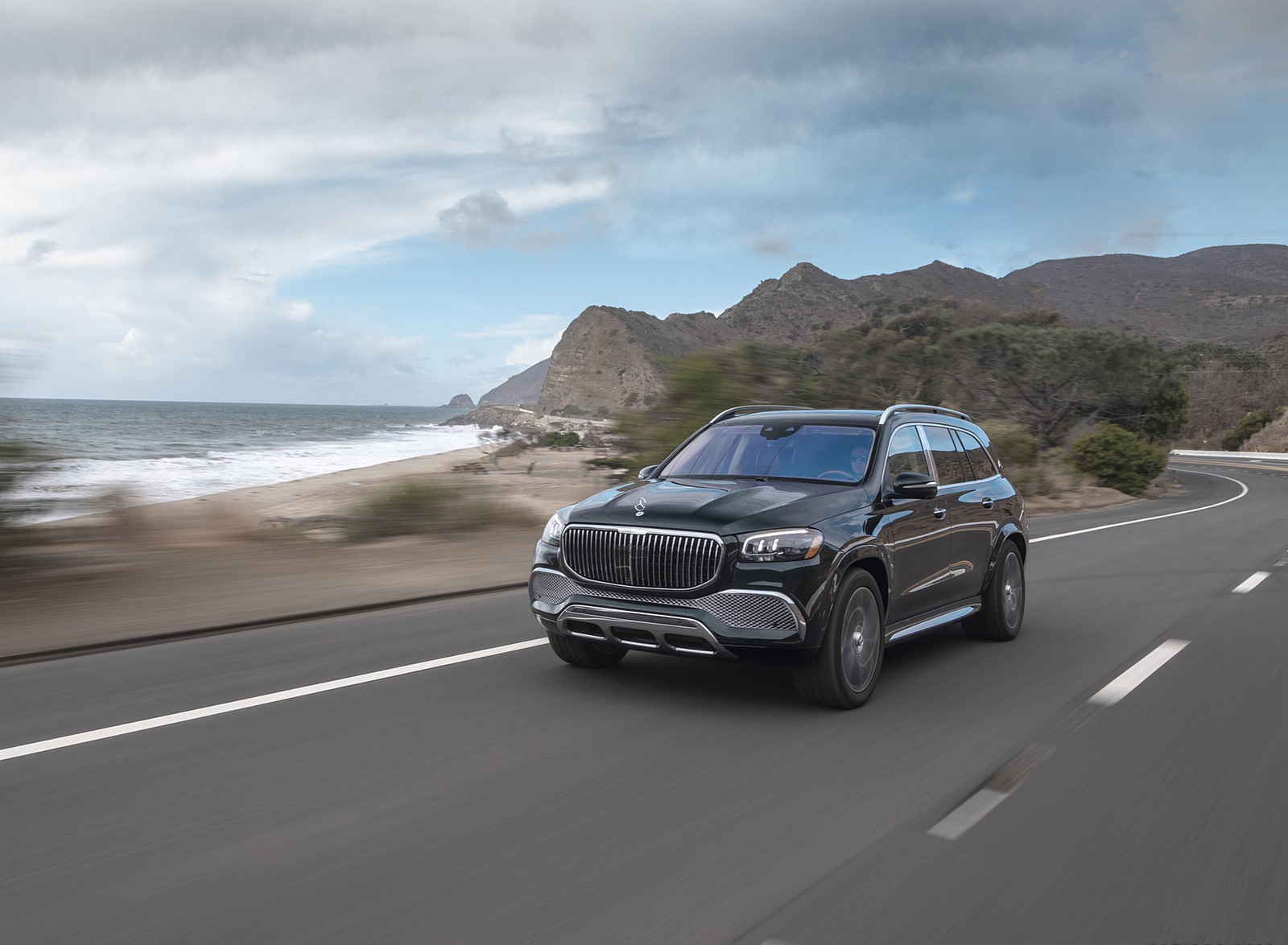 2021 Mercedes-Maybach GLS 600 (US-Spec) Front Three-Quarter Wallpapers (8)