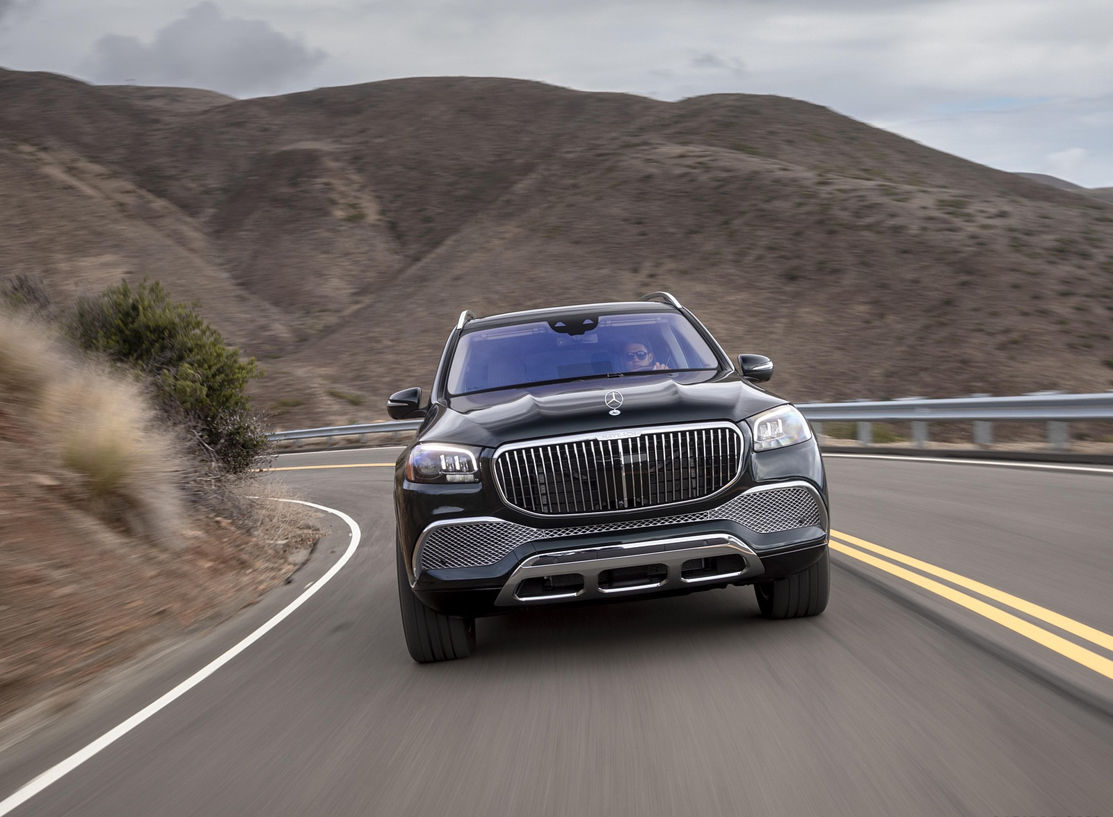 2021 Mercedes-Maybach GLS 600 (US-Spec) Front Wallpapers (10)