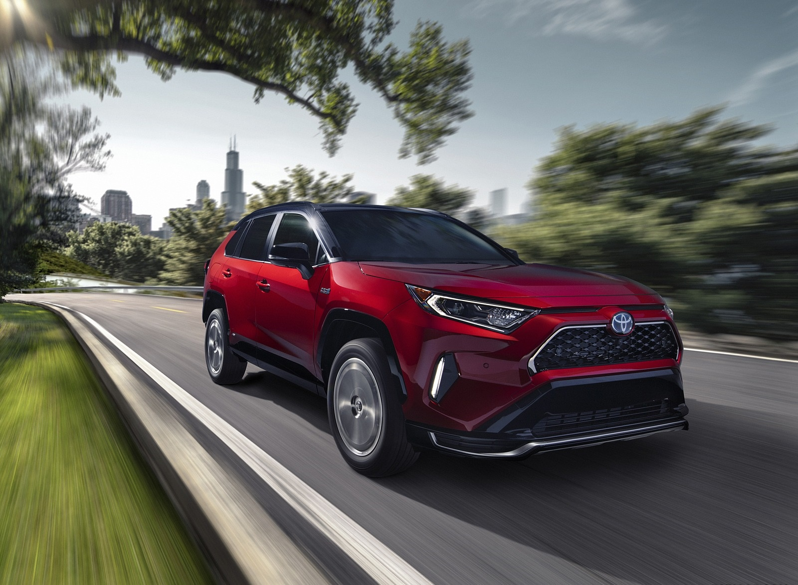 2021 Toyota RAV4 Prime Plug-In Hybrid Front Three-Quarter Wallpapers (4)
